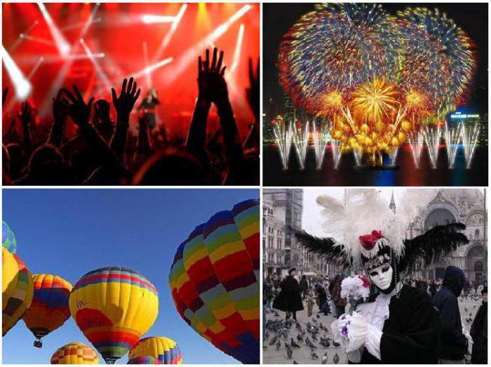 Туризм событийный: история и перспективы развития. Организованные поездки на фестивали и праздники