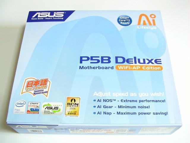 Материнская плата Asus P5B Deluxe: описание, характеристики, отзывы
