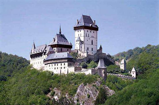 Замки Чехии: фото с названиями