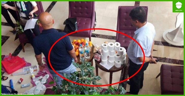 Русские в Турции: Туристы хотели украсть 14 рулонов бумаги и 5 литров Бэйлиса