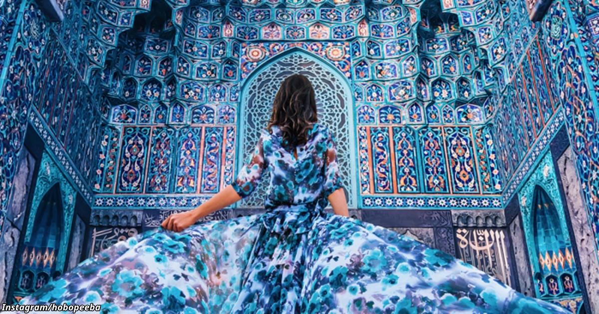 Я езжу по миру, чтобы фоткать самые красивые платья на фоне самых красивых мест