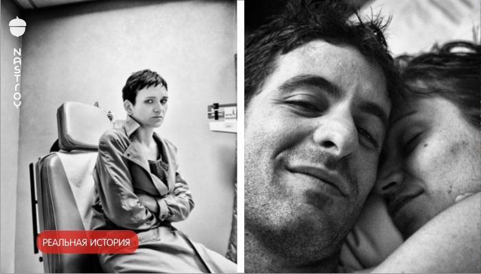 Муж фотографирует умирающую от рака жену. Последний кадр — просто нет слов...