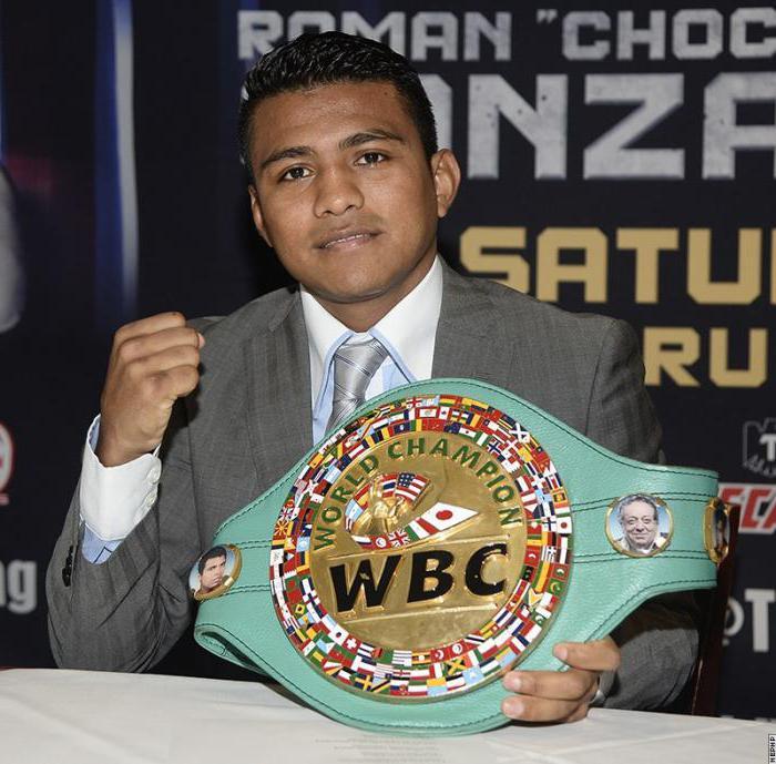 Роман Гонсалес   боксер профессионал из Никарагуа