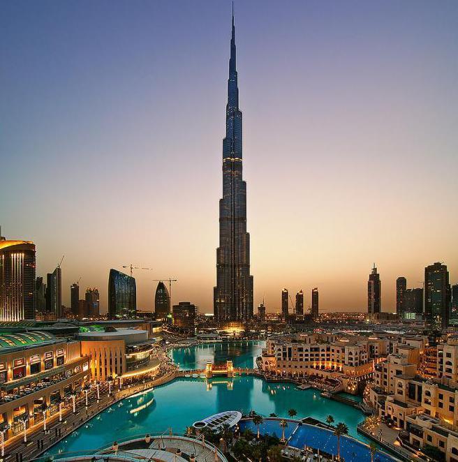Бурдж Халифа, Объединенные Арабские Эмираты: описание, история и интересные факты