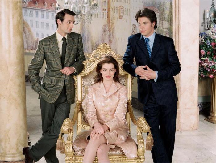 Дневники принцессы 2: Как стать королевой : актёры любимой киносказки