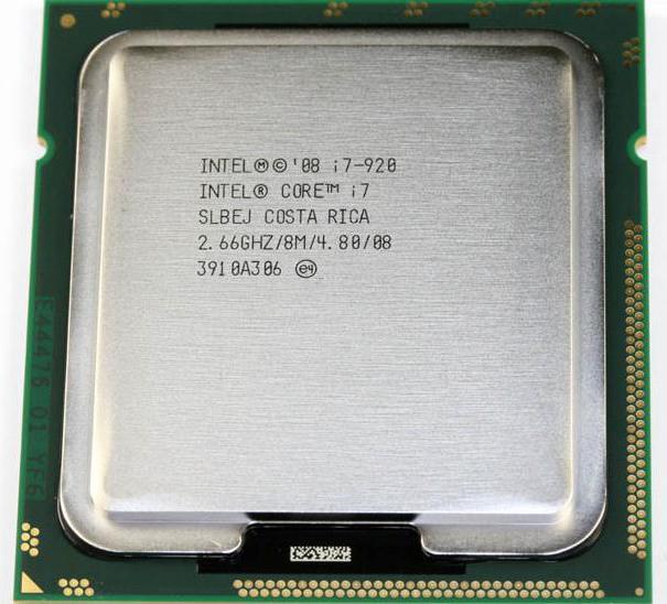 Обзор процессора Intel Core i7 920: особенности, технические характеристики и отзывы