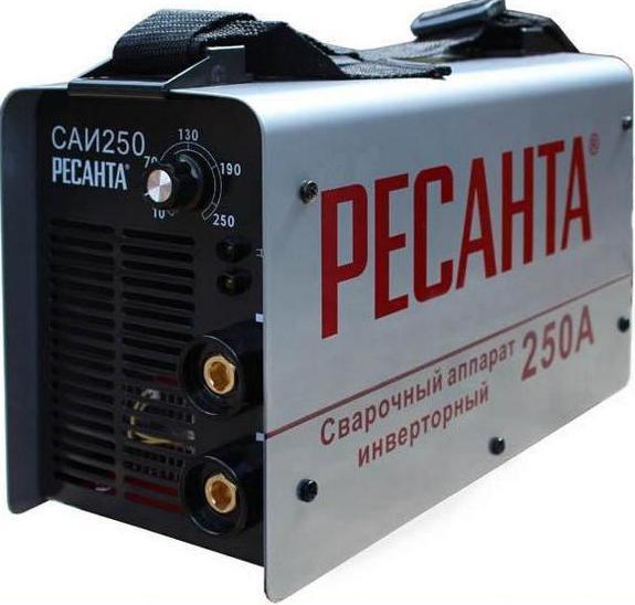 Сварочный аппарат инверторный  Ресанта САИ 250 : отзывы