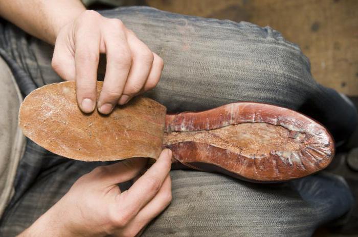 Как произвести своими руками ремонт обуви