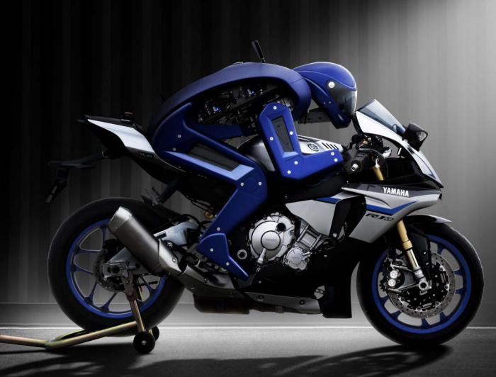 Знакомьтесь: это мотобот   робот мотоциклист от компании Yamaha