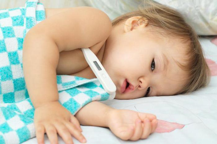 Судороги при температуре у ребенка: первая помощь