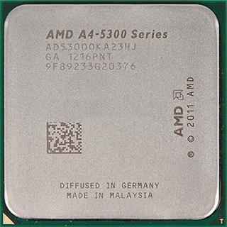 AMD A4 5300: характеристики, сравнение с конкурентами и отзывы